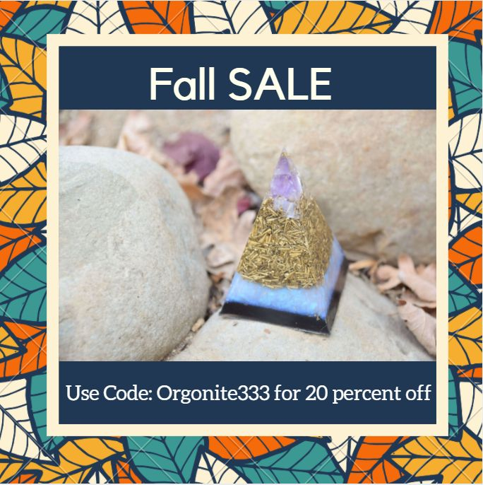 fall sale! get your #orgonite before it's too late