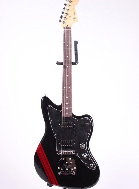 Fender Blacktop Jazzmaster HH Stripe   Vintage Guitar Boutique