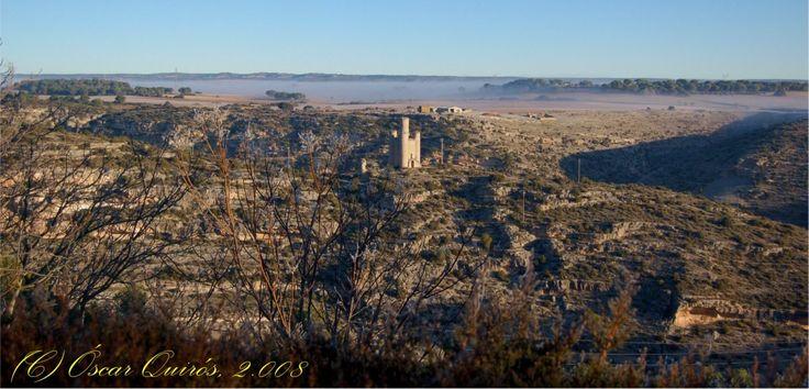 Alarconcillos: Una de las torres defensivas de Alarcón.
