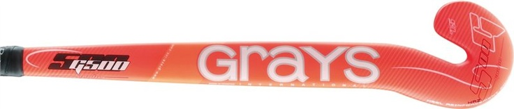 Grays G500 Wooden GK Stick £25.00    Composite hockey sticks are manufactured using a number of woven fibres which are pre-soaked in resin and then baked in a mould at high temperatures to take on its shape and strength.