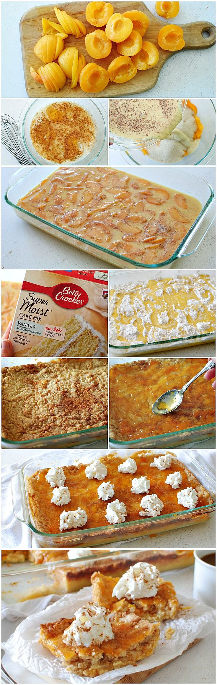 I can convert this into Dairy free and Gluten free for my family- Apricot Dump Cake #bettycrocker