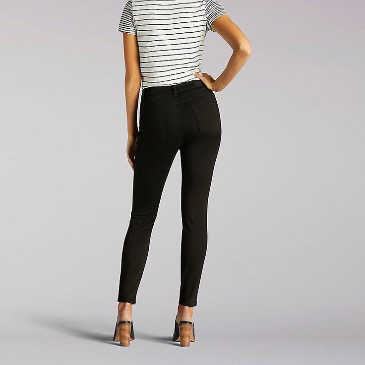 Lee Women's Modern Series Anna Skinny Ankle Jeans (Size 10 Slim)