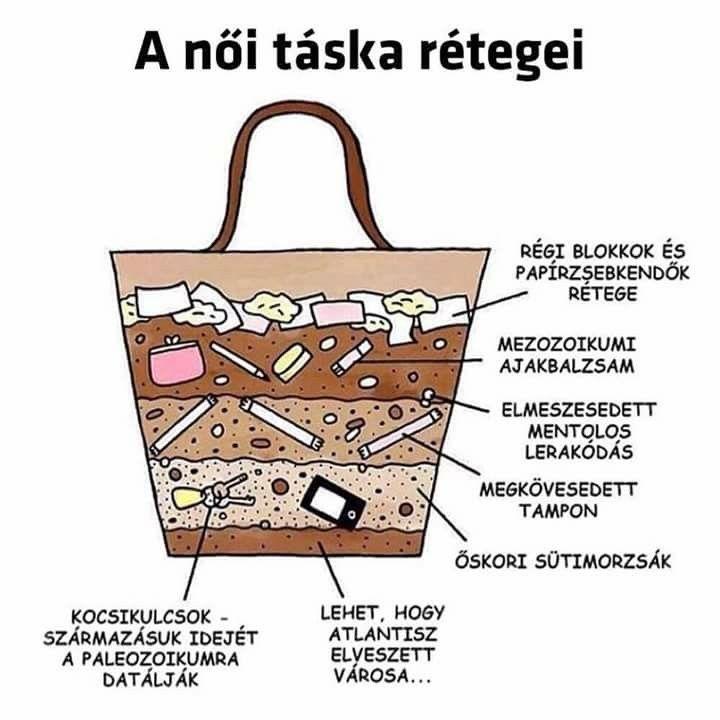 vicces idézetek nőknek A női táska rétegei | Women handbags, Purses, Womens purses