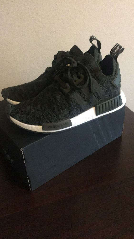 b347dd25c NEW Adidas NMD R1 PK Size 9 CQ2445 Green White BOOST  fashion  clothing   shoes  accessories  mensshoes  athleticshoes (ebay link)