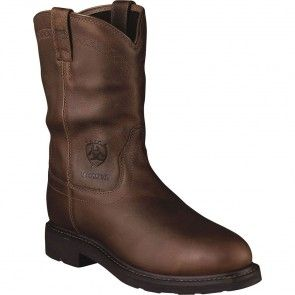 10002387 Ariat Men's Sierra H2O Safety Boots - Brown www.bootbay.com