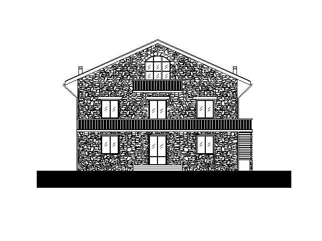 Progetto per nuova costruzione di VILLA bifamigliare a Valfurva (Sondrio) - by Studio di Architettura Roberto Carlando, Piazza Monte Falterona n°11 Milano - 20148 Italy Phone    +39.02.48713840 studio@robertocarlando.com   ;  www.robertocarlando.com