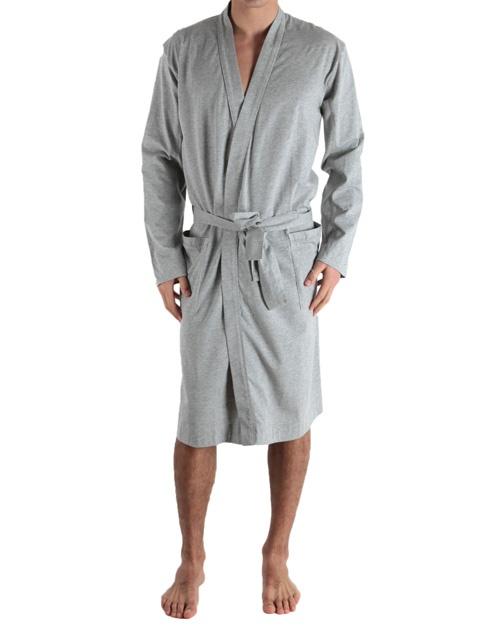 calvin klein peignoir ck one ck one cotton stretch peignoir robe de chambre coton stretch. Black Bedroom Furniture Sets. Home Design Ideas