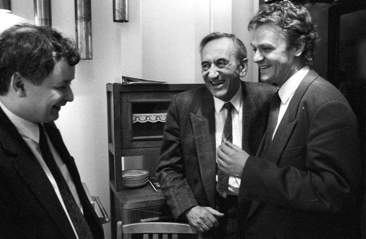 Jarosław Kaczyński + Tadeusz Mazowiecki + Donaldu Tusku