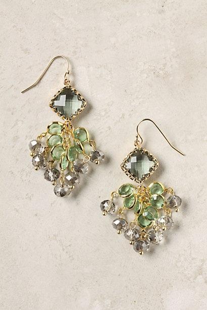 Anthropologie Earrings: Green Earrings, Anthropologie Earrings, Pretty Colors, Dress Clothes, Anthropologie Gallatin, Accessories, Bridesmaid Earrings, Gallatin Earrings