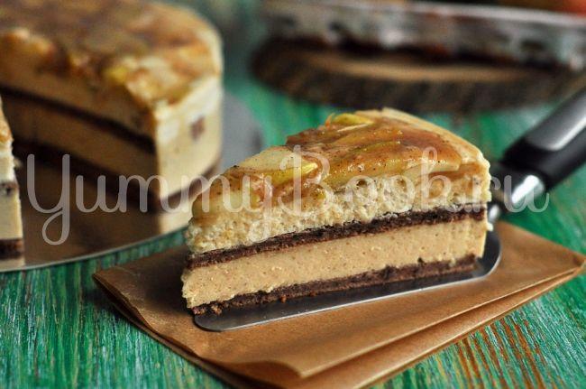Муссовый торт Яблоко с корицей
