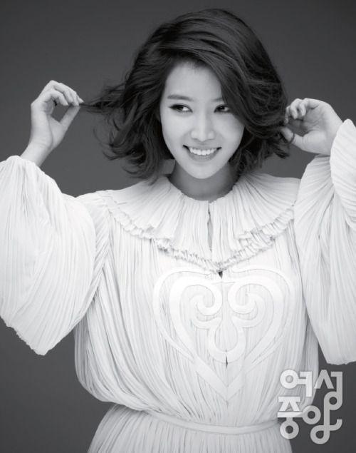 Im Soo Hyang Woman Chosun Magazine April Issue '13