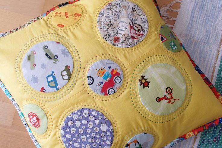 New pillow for our Adamek www.vjahodovce.blogspot.com