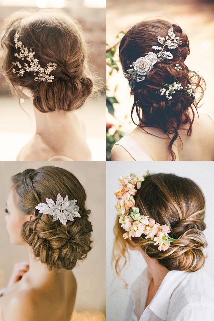 Fa fancy hair bun accessories -  Make A Cute Quick Hair Bun On Long Or Short Hair With This Tutorial Easy Messy Styles Elegant Styles For Bridal Weddings Very Elegant Fancy