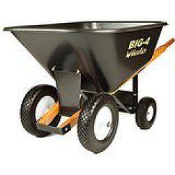 big 4 wheeler  wheelbarrow  review