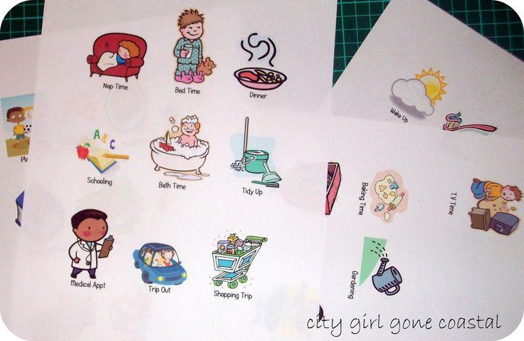 kindergarten schedule clipart - photo #6