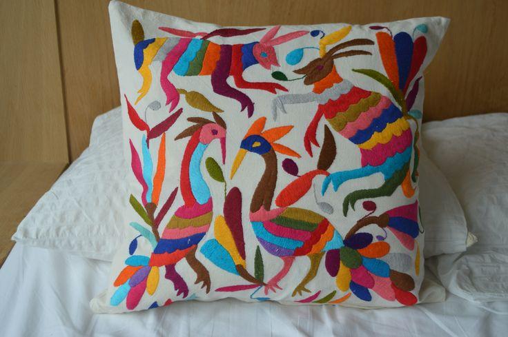 Home & Living | Home Décor | Decorative Pillows | Decorative Pillows | Otomi Pillows | Otomi Textile | Mexican Textile | Hand Embroidered | Cover pillow | Multicolor pillow | Otomi embroidered | Handmade pillow | Otomi fabric | Mexican pillow | pillow case | otomi cushion | Mexican pillow | cover embroidered animal fabric | mexican embroidered pillow | otomi fabric | mexican pillows | organic houseware | almohadas otomi | Fundas | almohadas organicas | almohadas coloridas | OTOMI MEXICO