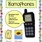 This homophone packet is geared to grades 1-3, but would also be excellent for ESL or special education classes. Here is what is inside the packet:...
