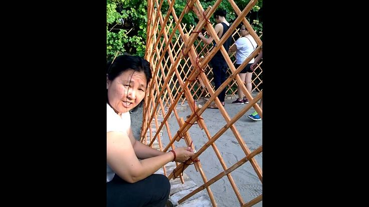 How to Build a Yurt Part 1 - We got our first traditional Mongolian yurt not too long ago...