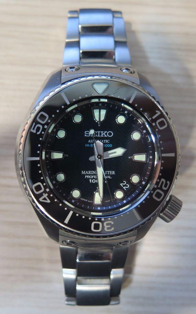 71c9b02273b9 Seiko Prospex Marine Master SBEX003 Titanium 1000m Watch 2007 Full Set  Limited en 2019