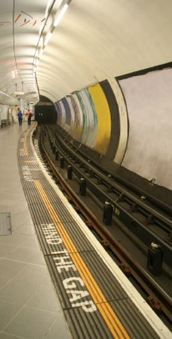 Mind the Gap/Chapter 5 Daring Greatly by Brene Brown Stood there many times symbolically and in London.