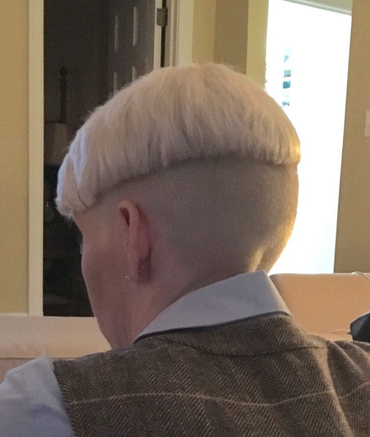 The Bowl Is Getting Thicker Bleached All The Hair Two
