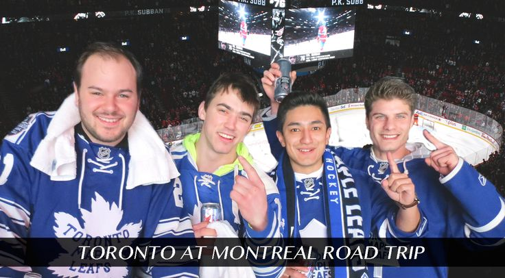 Who wants to experience a true Canadian Hockey atmosphere?! Head to the Bell Centre with Elite Sports Tours on February 27 - March 1 to watch the Leafs and Habs!