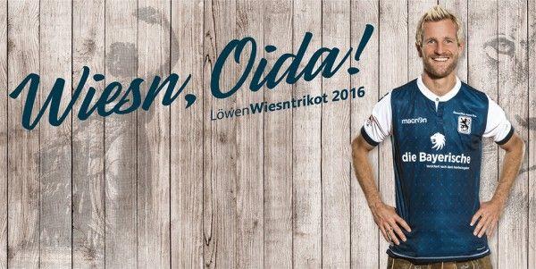 Nova camisa Oktoberfest do Munique 1860