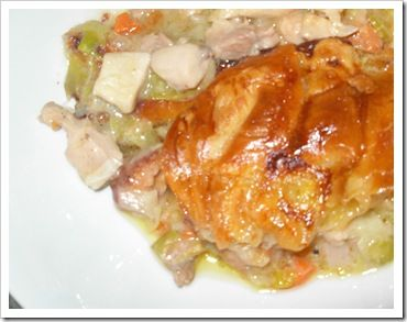 The Best Chicken and Sweet Leek Pie with Flaky pastry (by Jamie Oliver)