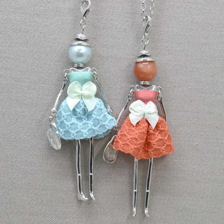 Cheap Pendant Necklaces, Buy Directly from China Suppliers:	Live in the city green elves...	  	Handmade fairy dolls, each season dressed in all kinds of handmade cloth clothe