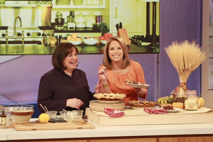 Pecan pie is my favorite!! Ina Garten joins me on Wednesday's show to show me how to make her signature maple pecan pie! Click through for the recipe!