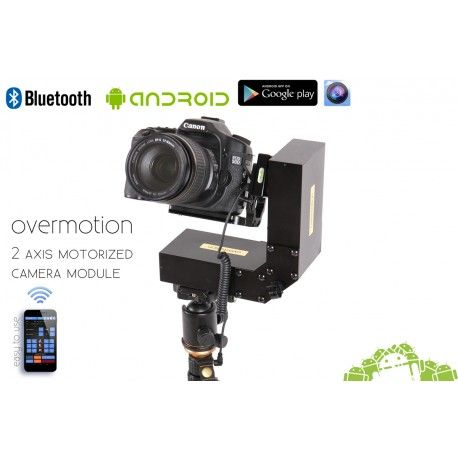 Horizontális és vertikális kamera mozgató modul