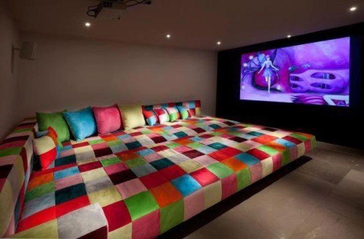 sala de cine y tv