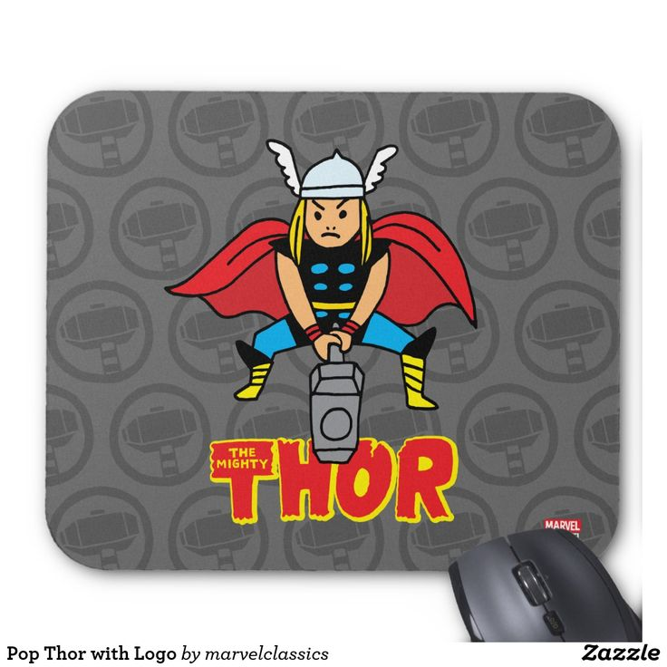 Pop Thor with Logo