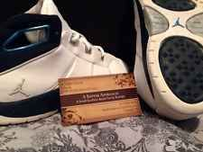 Rare Jordan Jeter Retired #2 Limited Edition Re2pect 3Y Shoes Boys White Blue