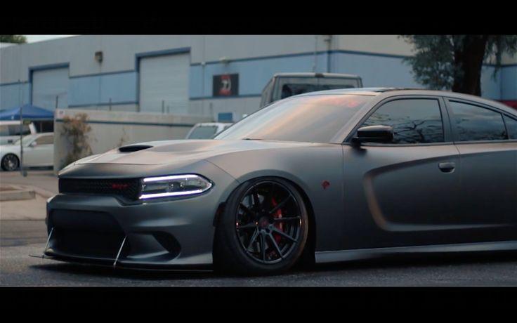 VIDEO: Bagged Charger SRT Hellcat Designed By @SSMotorsports http://srtlife.com/2016/10/video-bagged-charger-srt-hellcat-designed-by-ssmotorsports/
