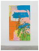 michael majerus Untitled c. 2000 Acrylic on canvas 99 1/2 x 59 inches; 253 x 150 cm