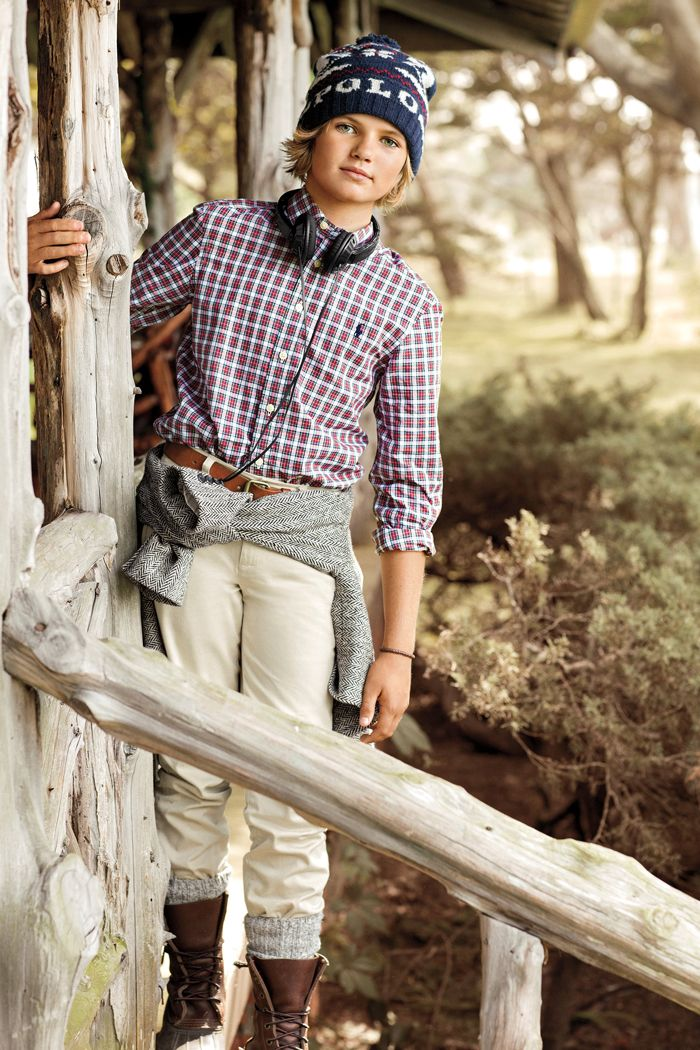 Ralph Lauren Kids has timeless appeal, perfect for the holiday season