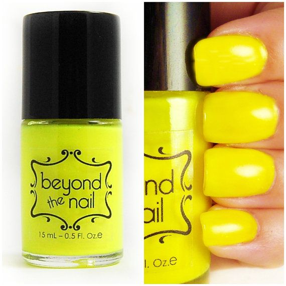 Best 25+ Yellow nail polish ideas on Pinterest | Nail ...