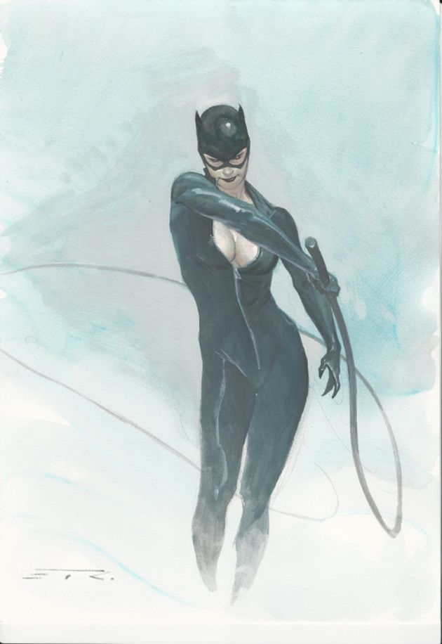 Catwoman by Esad Ribic
