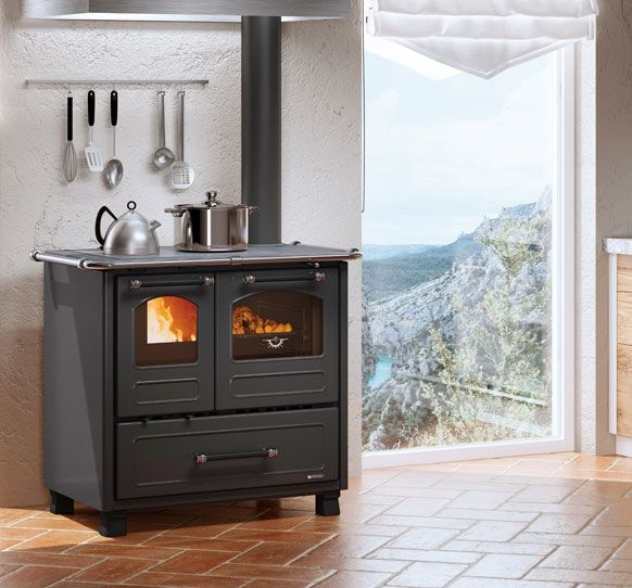 Woodburning Cookers Family 4 5 La Nordica Extraflame Wood Stove Wood Pellet Stoves Outdoor Wood Fireplace