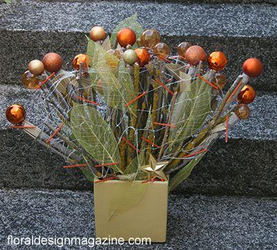 More Christmas ideas with floraldesignmagazine.com