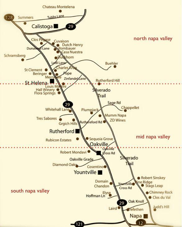 map courtesy of winecountrygetaways.com