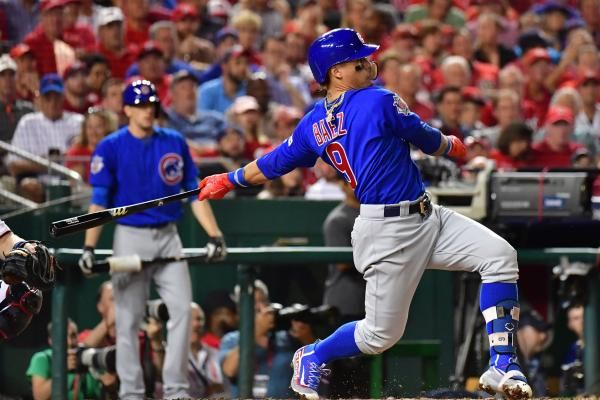 Last year Javier Baez of the Chicago Cubs hit a home run in Game 1 of the National League Division Series to beat the San Francisco Giants.