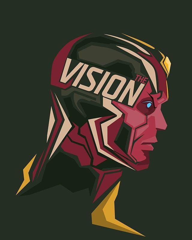 Vision #CivilWar #popheadshots