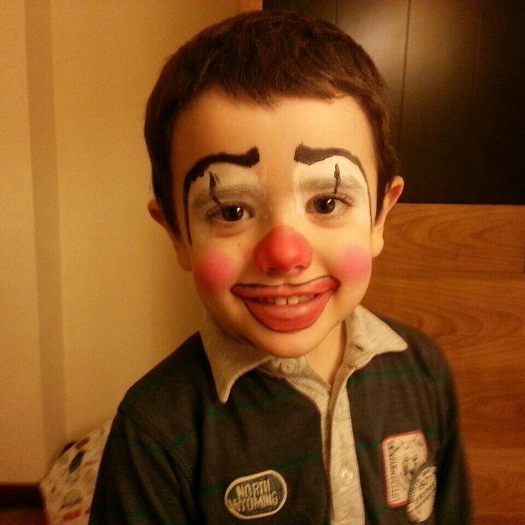 Face painting. clown. Pintacaras. Payaso.