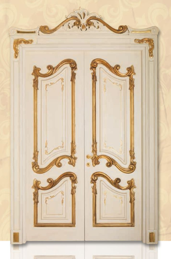 PALAZZO REALE 1032/QQ/INT casing with cyma Palazzo Reale Palazzo Reale© Classic Wood Interior Doors | Italian Luxury Interior Doors | New Design Porte Emotions