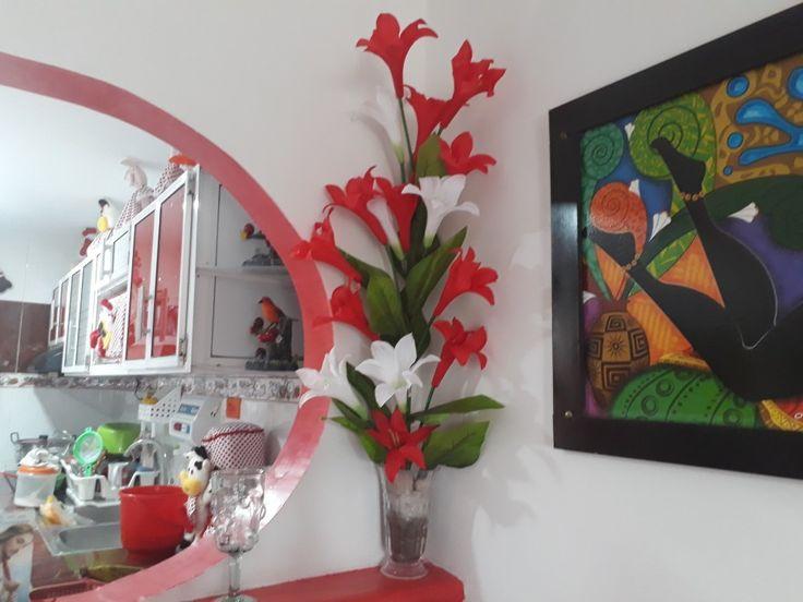 Arreglo floral esquinero. ⚘