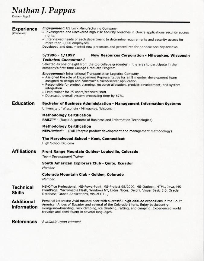 2 Page Resume Examples Luxury Resume Format Resume Format For Second Page In 2020 Job Resume Examples Teacher Resume Examples Resume Examples
