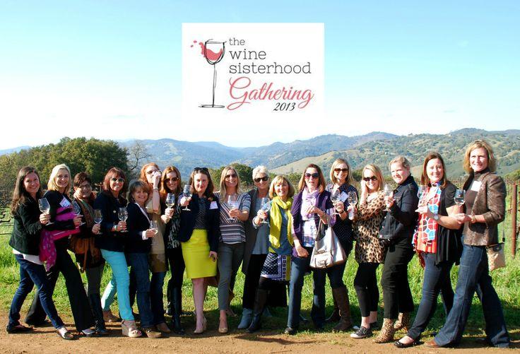 The Wine Sisterhood Gathering In Napa #winesister