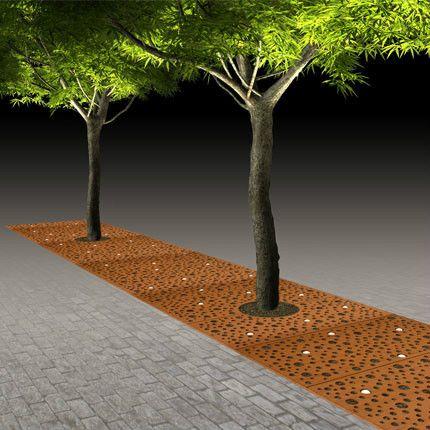 boombescherming met geïntergreerde verlichting